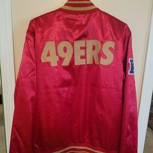 new concept 946d5 3ace1 San Francisco 49ers Nike jacket